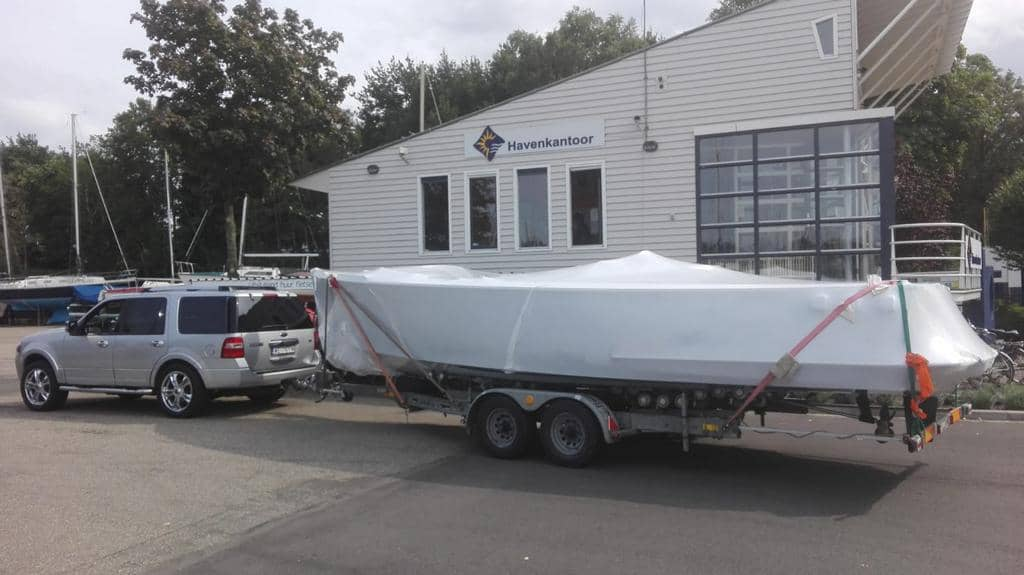 Jak zabezpieczyć łódź/jachtu podczas transportu?
